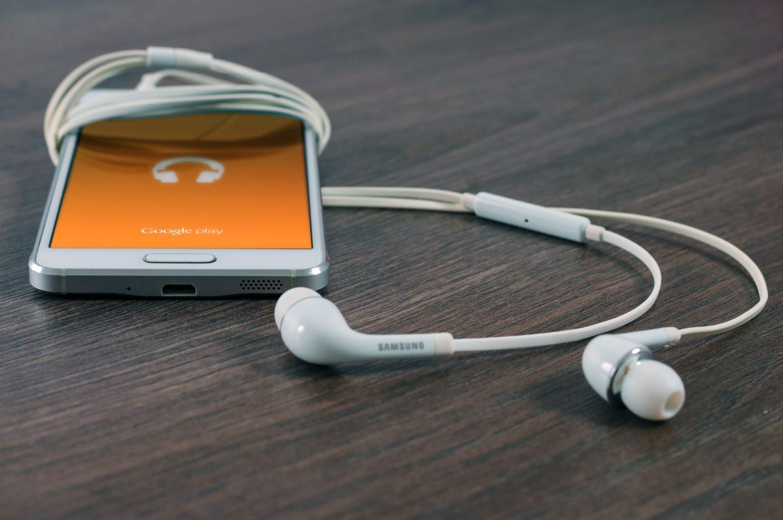 Phone and Headphones