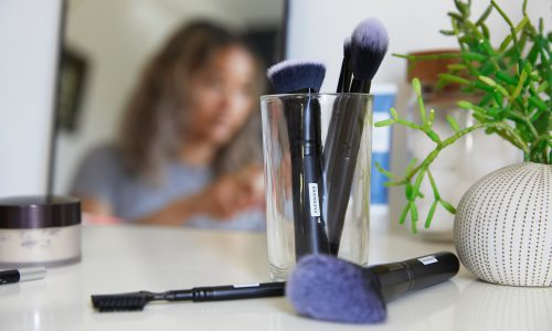 beauty cosmetic brushes